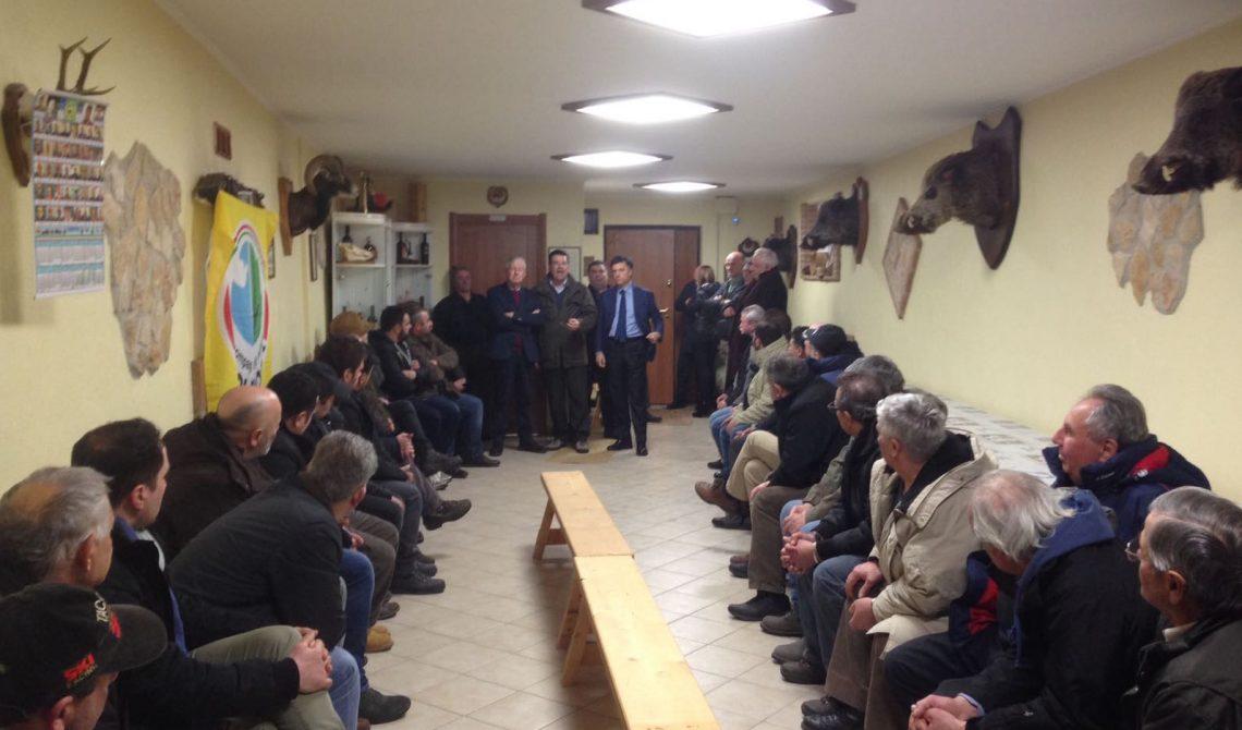 Galati a Santo Stefano con le associazioni venatorie